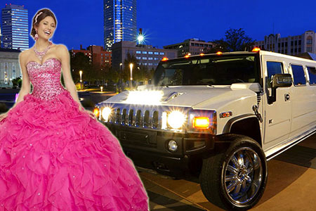 OKC Limo Rental for Quinceaneras
