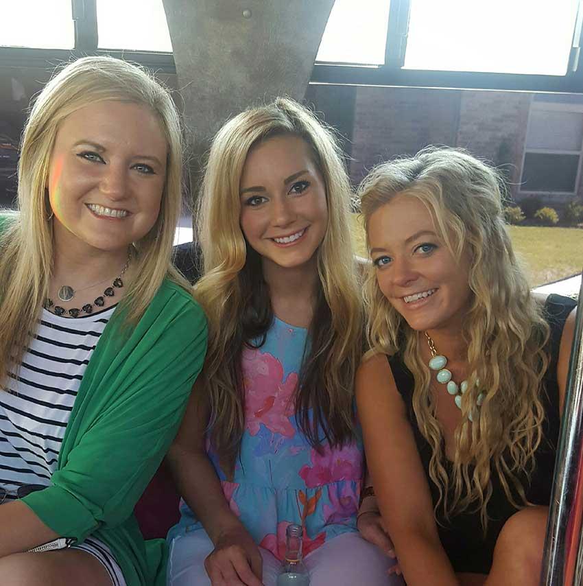OKC Bachelorette Party Bus Rental Girls