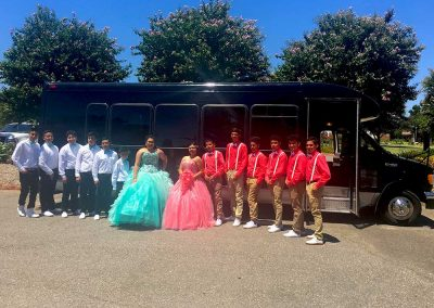 OKC Quinceanera Party Bus