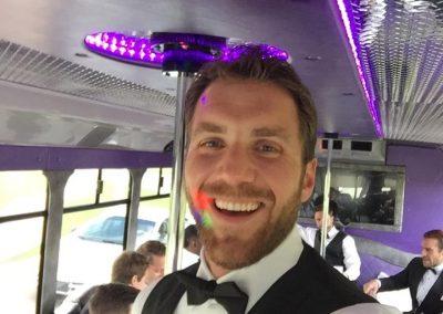 OKC Imperial Wedding Party Bus Rental