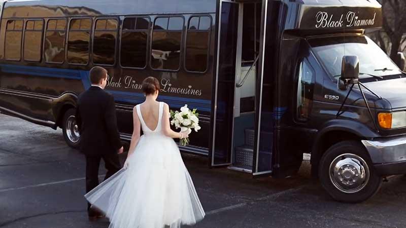 Okc Premier Wedding Party Bus
