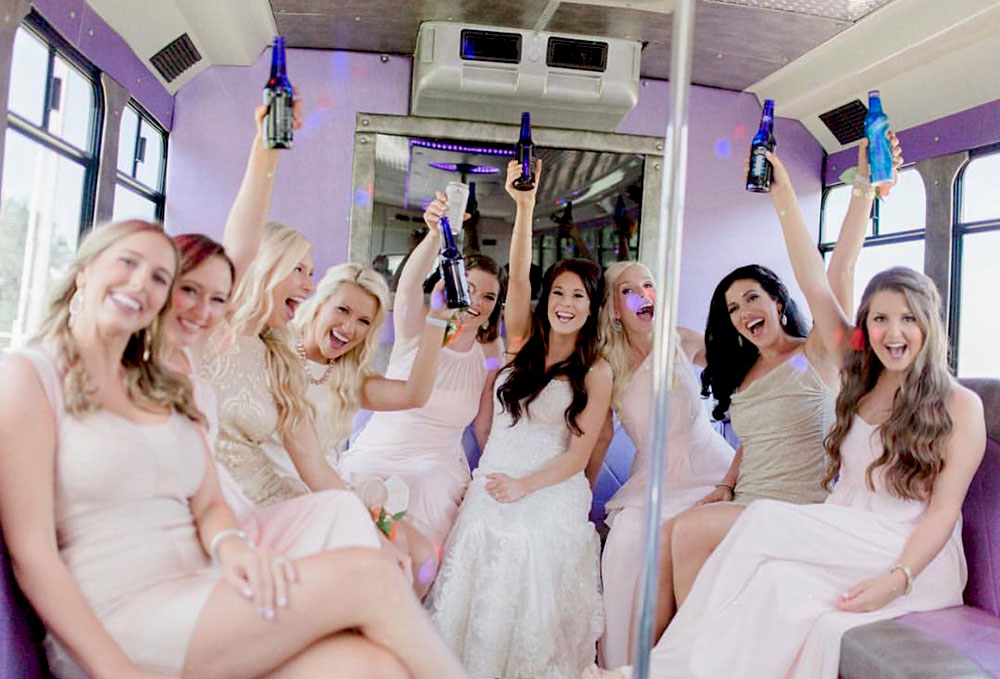 Wedding Transporation Oklahoma City Party Bus Al