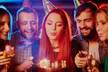 Adult Birthday Party - Limos and Party Bus Rental