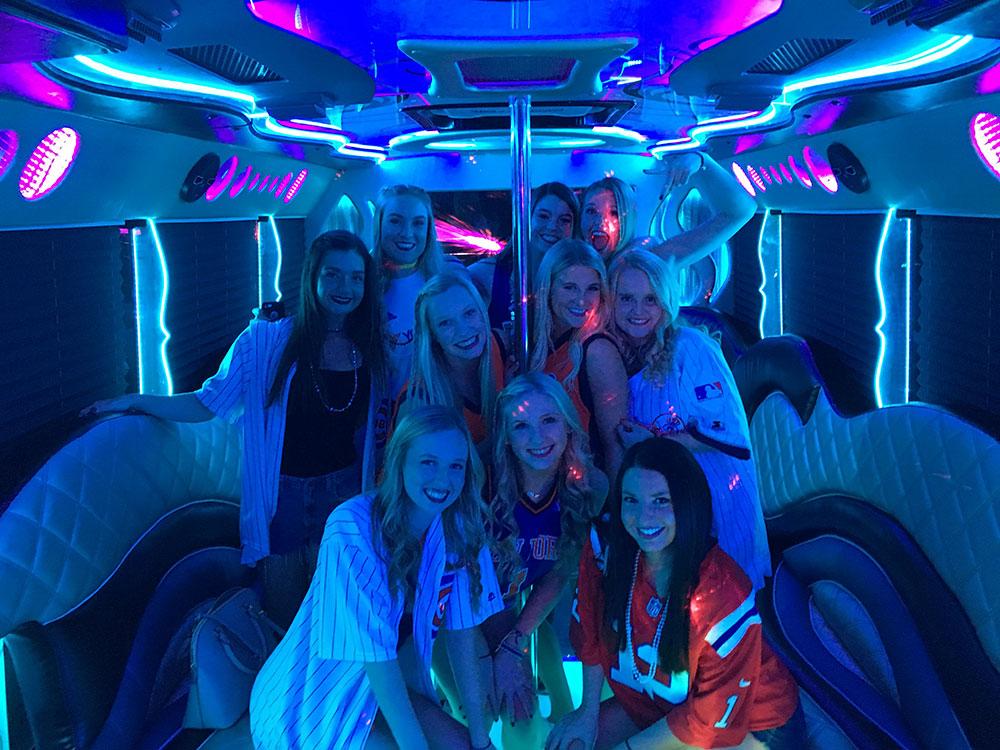 Party bus okc birthday